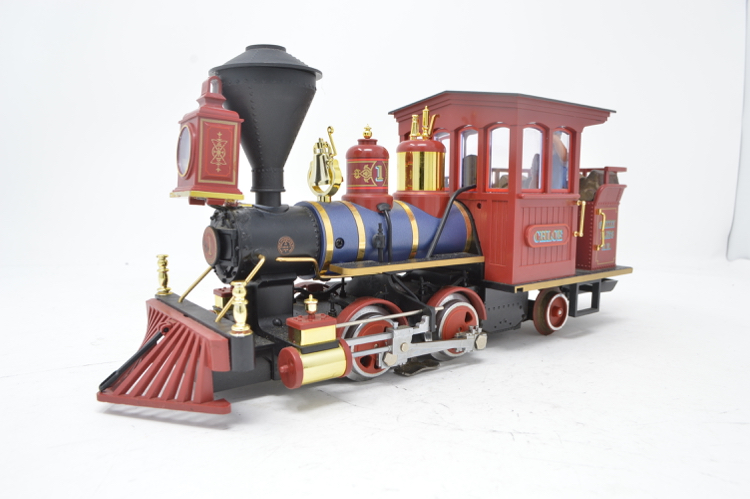 LGB G Gauge 20130 Grizzly Flats Railroad Steam Locomotive 'Chloe'
