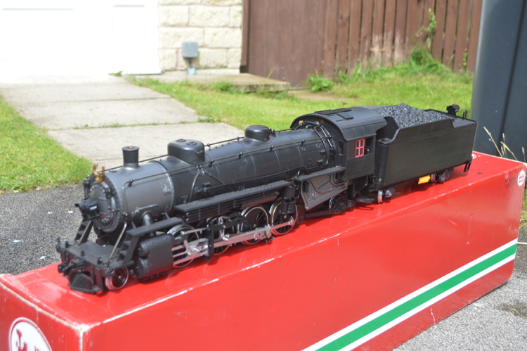LGB 20872 G Gauge 2-8-2 MIKADO STEAM LOCO WITH SOUND - MTS DIGITAL