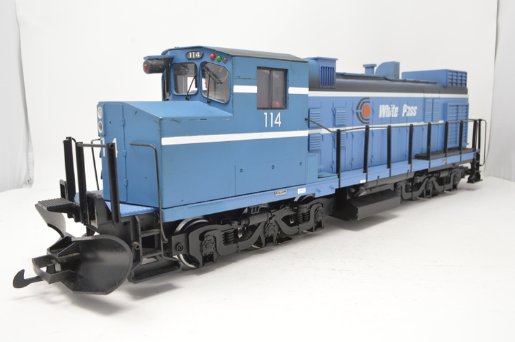 LGB 2115 S G Gauge White Pass Locomotive 112 with Sound