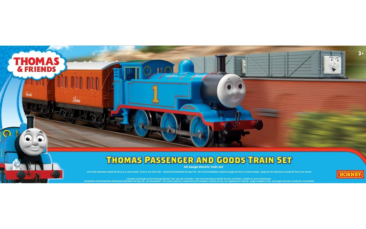 Hornby R9285 Thomas Passenger and goods Train set