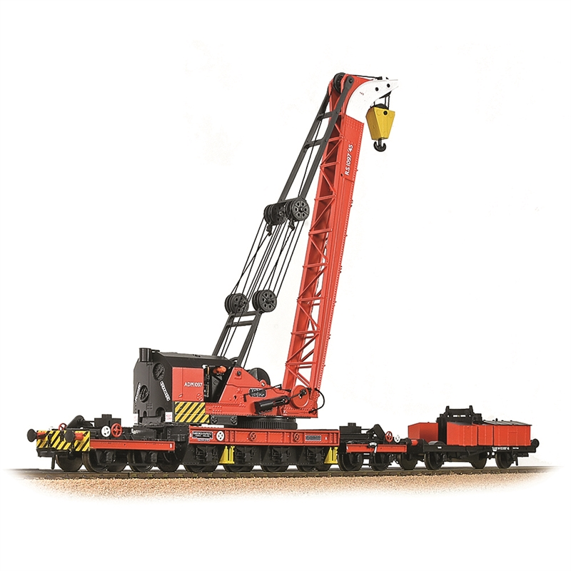 38-803 RANSOMES & RAPIER 45T STEAM BREAKDOWN CRANE BR DEPARTMENTAL RED S.1097'45