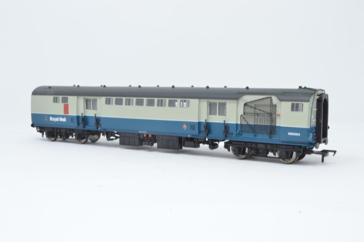 Bachmann 39-426 TPO Sorting Van with nets BR Blue & Grey