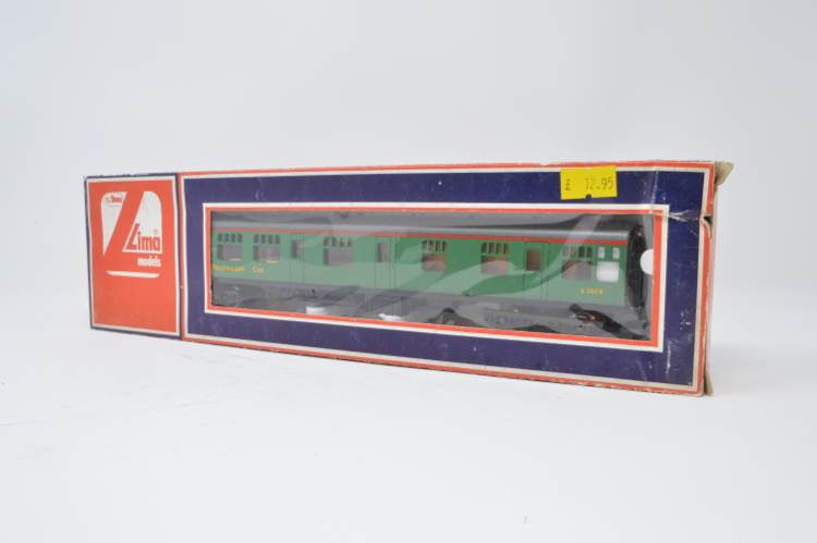 Lima 305324 BR Green MK1 Restaurant car S33465