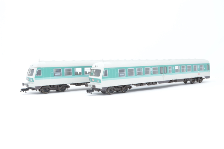 Fleischmann 4438 Class BR 614 2-Car Diesel Railcar of the DB