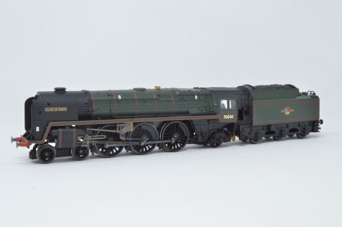 Hornby R2180 4-6-2 Britannia Class 'Clive of India' '70040' BR Green