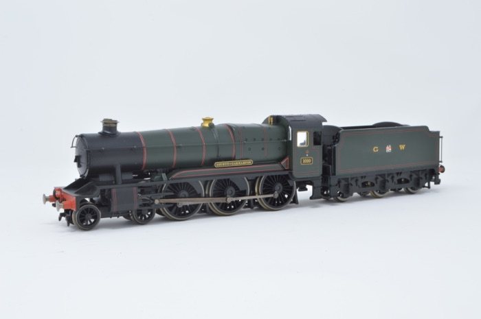 Hornby R2391 4-6-0 County Class'County of Carnarvon' '1010' GWR Green
