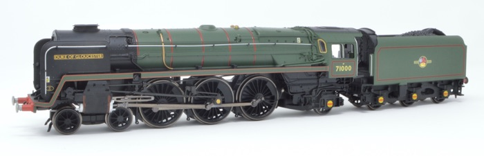 Hornby R3244TTS 4-6-2 Duke of Gloucester '71000' BR Green TTS Sound